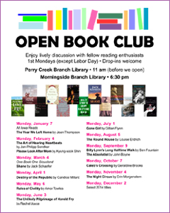 2013 Open Book Club